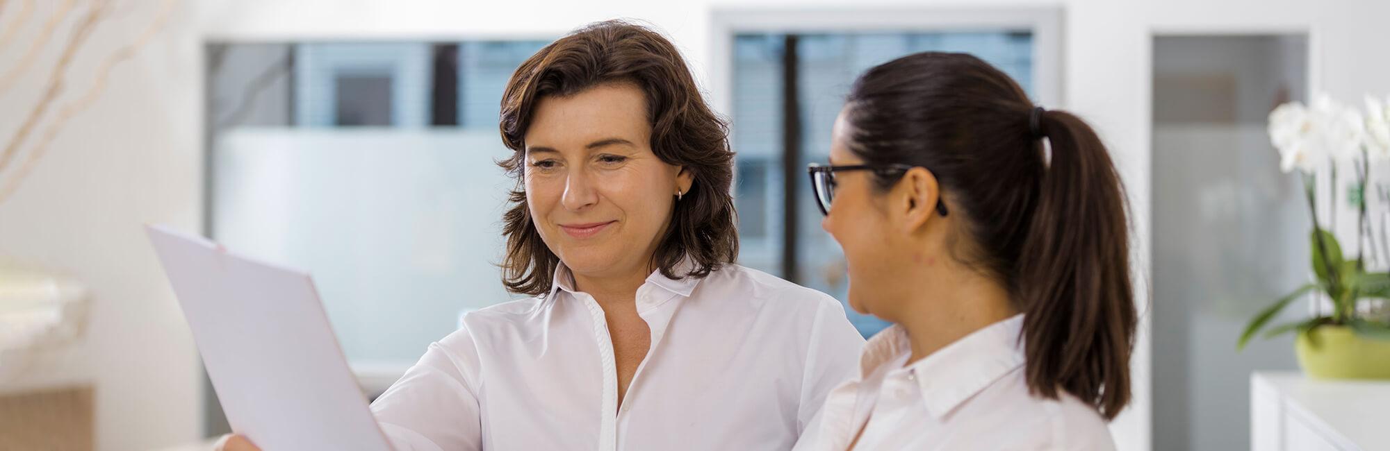 Hausarzt Köln Innenstadt - Dr. Lucia Bachner - das Ärzteteam der Praxis - Team
