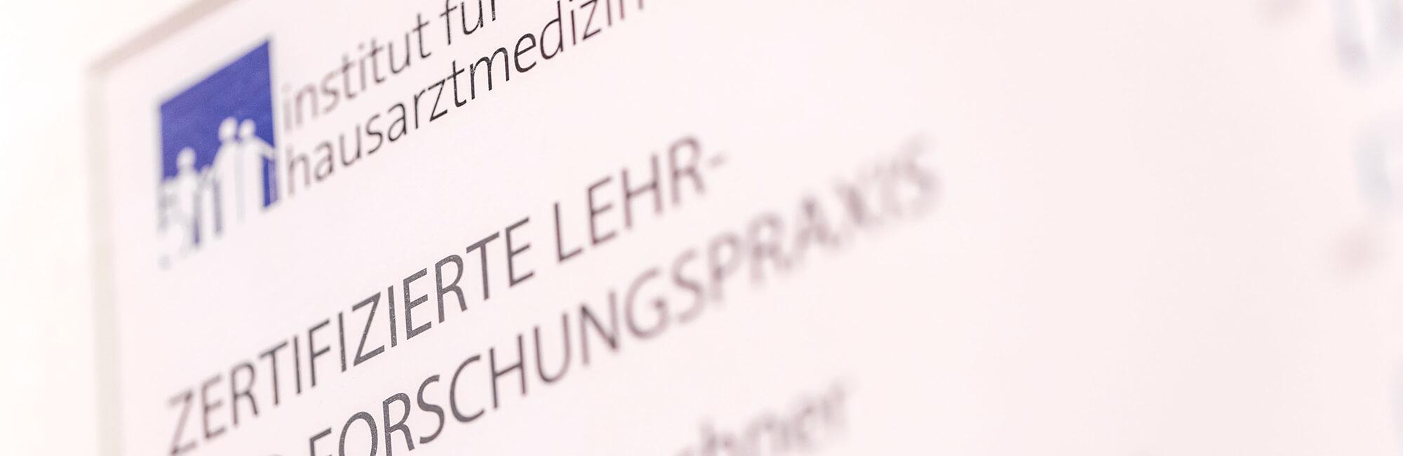 Hausarzt Köln Innenstadt - Dr. Lucia Bachner - Datenschutz